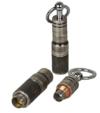 Hadson Schlüsselanhänger Doppel - Zigarrenbohrer mit Auswurfmechanik Antik silber inkl. Lifestyle-Ambiente Tastingbogen -